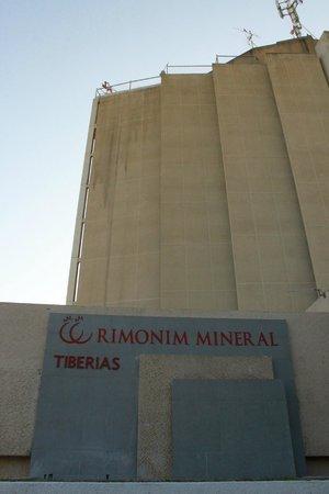 Rimonim Mineral Tiberias : Hotel tampak dari luar