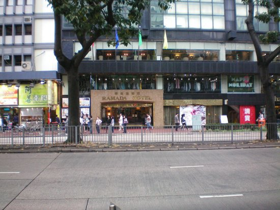 Best Western Plus Hotel Kowloon : Ramada hotel