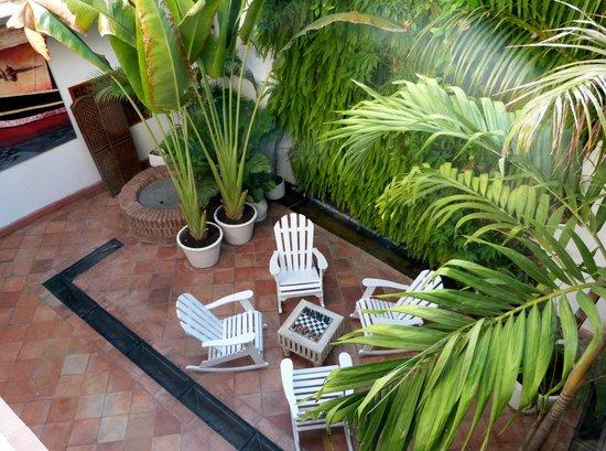 Bantu Hotel By Faranda Boutique: Interior courtyard
