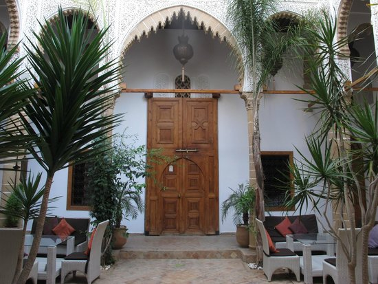 Riad Kalaa: Porta do quarto de domir