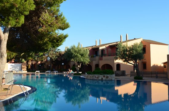 Aparthotel Club Andria: Swimming pool area
