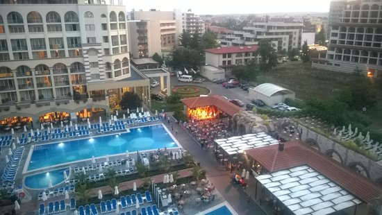 إبيروستار صني بيتش ريزروت: View from teh Pool View Premium room on the 7th floor