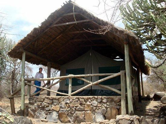 Ol Mesera Tented Camp: Balcony