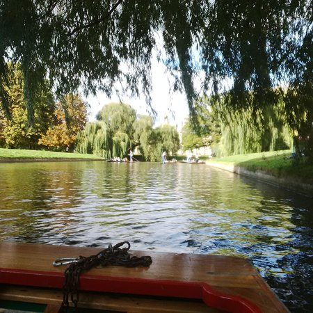 The River Cam: Beautiful way to get around