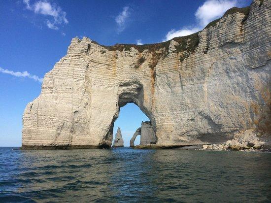 Fecamp, France: Les falaises d'Etretat