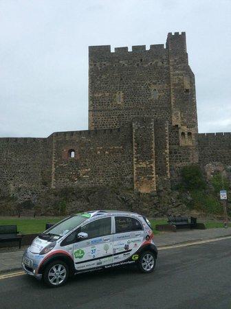 Antrim Coast Road: Carrickfergus Castle