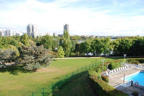 Novotel Paris Creteil Le Lac : Vue de notre chambre