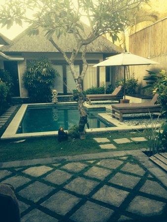 The Sanyas Suite Seminyak: Relaxing