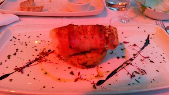 Bellaria Restaurant & Wine Bar: Cod Wrapped in Pancetta