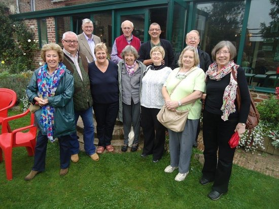 Avril Williams Guest House: Barbed Wire Tours group with Avril