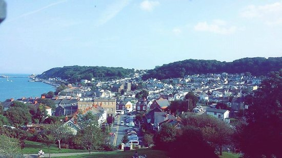 Ibis Swansea: View of Oystermouth from the castle
