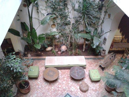 Ryad Bahia: spazi comuni