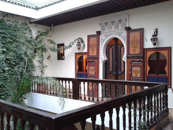 Ryad Bahia : l'ingresso di una delle camere