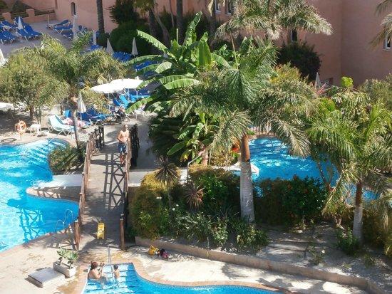 Vista de las piscinas interiores fotograf a de for Piscina 402 granada precios