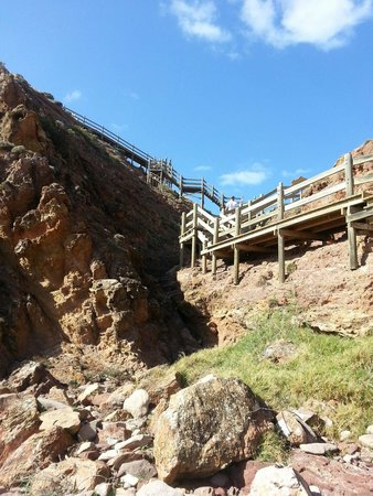 Marion Coastal Walking Trail: Lots of stairs for exercise