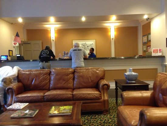Marriott's Manor Club at Ford's Colony: Checkin