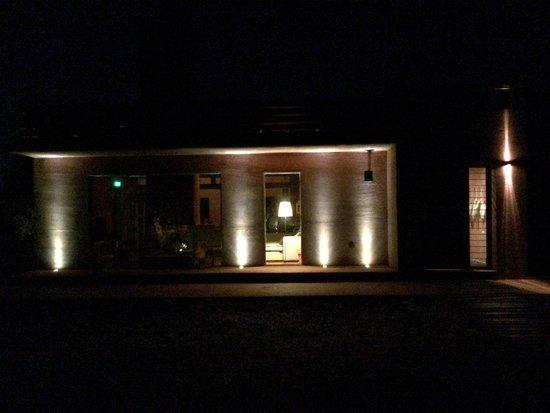 Eumelia Organic Agrotourism Farm & Guesthouse: EUMELIA Mainhouse at night