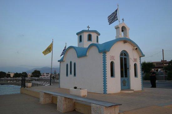 Lyttos Beach Hotel: Kapliczka 1 nocy, tóż nieopodal hotelu