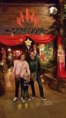 The Carnivore Restaurant: Our first visit to carnivore on christmas eve