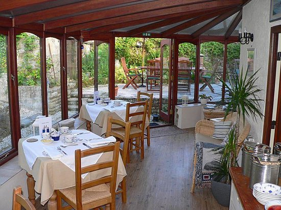 St Cleer, UK: Breakfast in the Conservatory