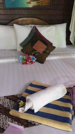 Alam Nusa Huts and Spa : Pokój