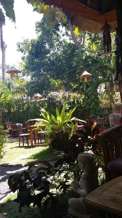 Alam Nusa Huts and Spa : Restauracja