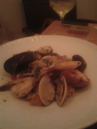 Como Como Osteria Mediterranea: Seafood pasta