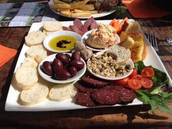 North Star Inn Restaurant: Tasting plate. Pretty impressed! $20