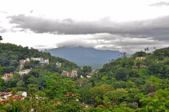 Senani Hotel: Aussicht von der Terrasse