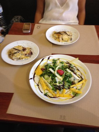 Alsur Café (Palau): Almoço delicioso