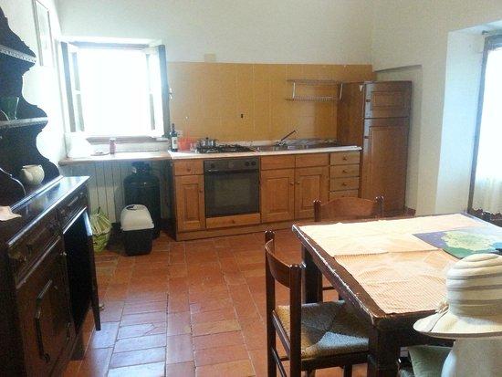 Antica Tenuta Le Casacce: Kitchen/dining room
