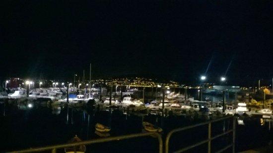 Pazo de Mendoza: porto