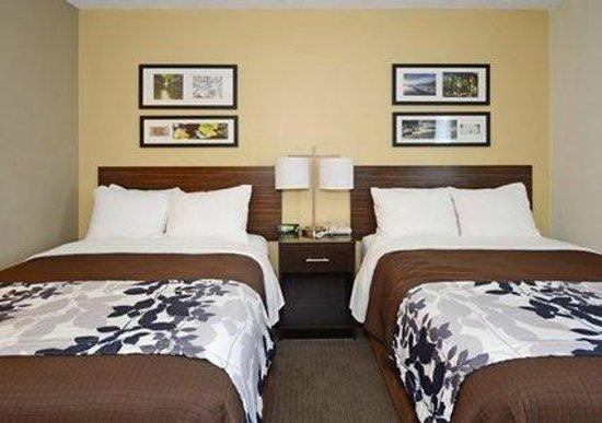 Fayetteville Sleep Inn: Two queen beds