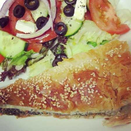 Cafe Mbriki: Spinach and Feta Pie