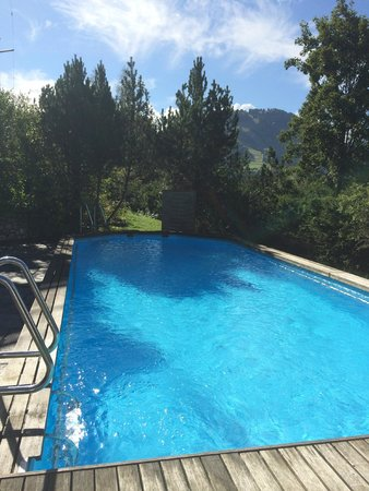 Hotel Le Grand Chalet: Quiet and intimate pool