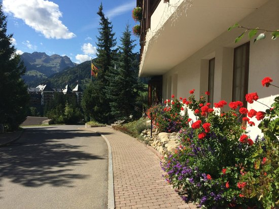 Hotel Le Grand Chalet: Beautifully florished