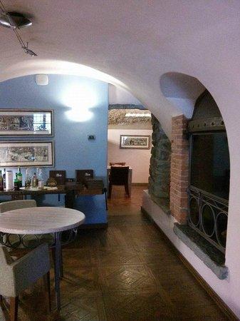 Hotel Ad Gallias : le salette colazione
