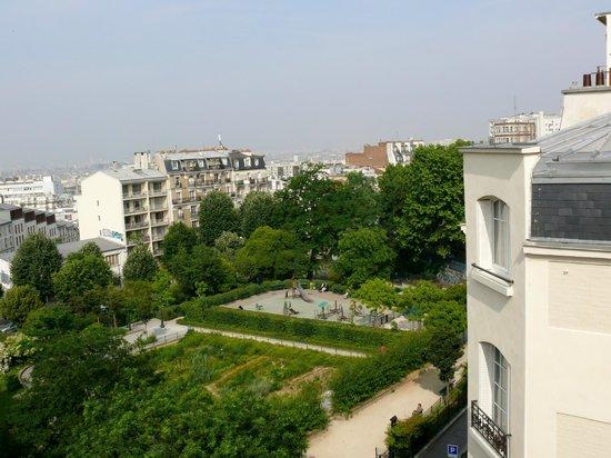 Nadaud Hotel: Vista desde la habitación.