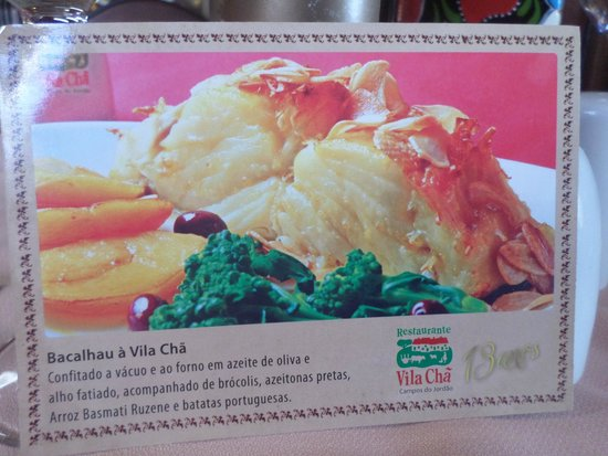 Restaurante Vila Cha: Ainda vou degustar esse!