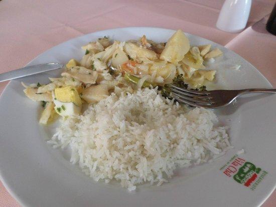 Restaurante Vila Cha: Estava muito bom!