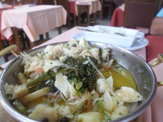 Restaurante Vila Cha: Bacalhau a Cataplana