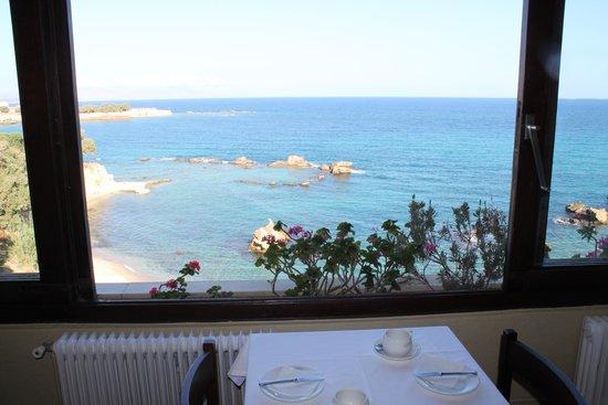 Doma Hotel: vista dalla sala da pranzo