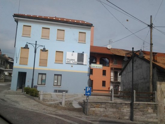 San Maurizio d'Opaglio, Italië: Museo del Rubinetto - L'ingresso