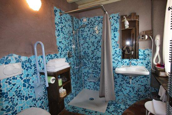 Boutique Hotel Villa dei Campi: Bad Zimmer 4 Fiori