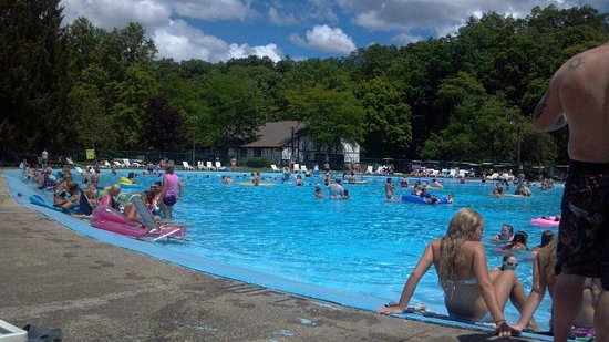 Champion, PA: Largest outdoor swimming pool in Pennsylvania