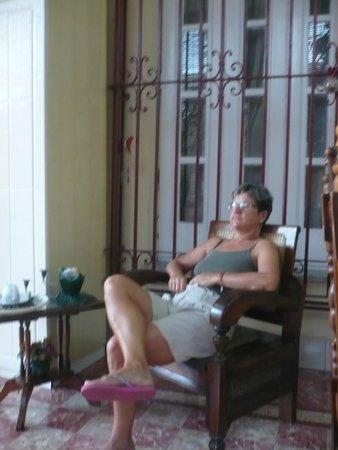 Casa Viel: Relax in veranda