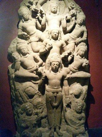 Chhatrapati Shivaji Maharaj Vastu Sangrahalaya : La première salle en bas du musée