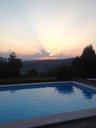 Agriturismo Le Casacce : Tramonto