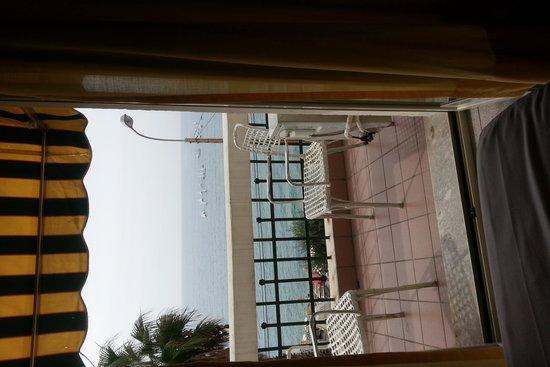 Hotel Villa La Brise: вид на море