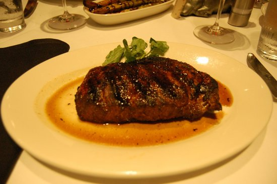 Morton's The Steakhouse: Cajun Ribeye Steak